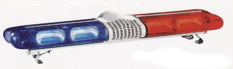 ไฟไซเรนทรงแคปซูล BANGKOK SIGNAL DC.12 V แบบแฟลซ 4 หลอดใหญ่