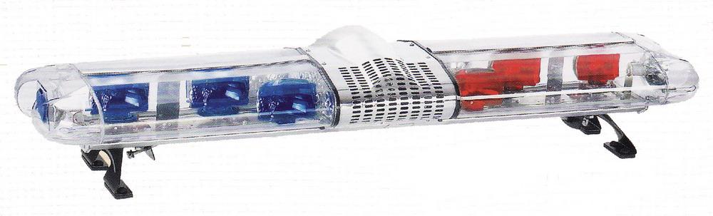 ไฟไซเรนทรงแคปซูลกรอบใส BANGKOK SIGNAL  DC.12 V แบบหมุน 4 โรเตอร์