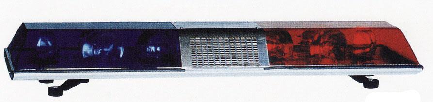 ไฟไซเรนทรงเหลี่ยม BANGKOK SIGNAL DC 24 V แบบหมุน 4 ดวง ยาว 120 ซม.