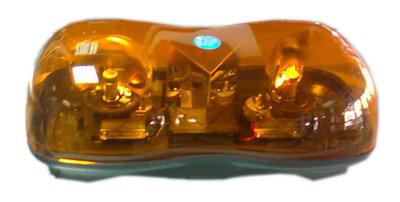 ไฟไซเรนทรงเม็ดถั่ว BANGKOK SIGNAL DC.24 V แบบหมุน 2 ดวง