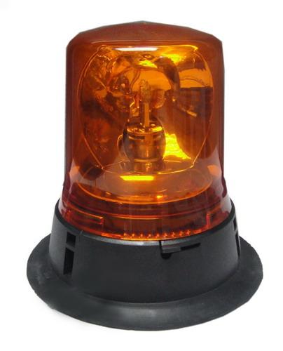 ไฟไซเรนทรงกลม BANGKOK SIGNAL ฐาน 5.5 นิ้ว DC.24 V แบบหมุน 1 ดวง