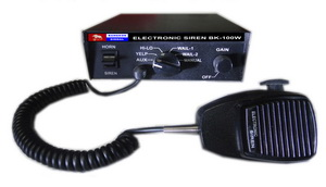 เครื่องขยายเสียงอิเล็คทรอนิกส์ไซเรน BANGKOK SIGNAL DC.24 V 200 W
