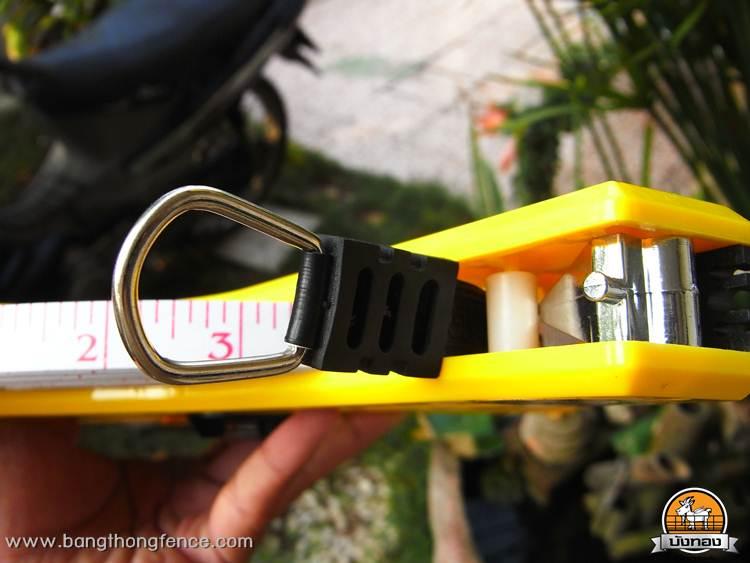 เทปวัดที่ วัดระยะ แบบยาว 100m. Measuring Tape สำหรับการสำรวจก่อนติดตั้งรั้ว 4