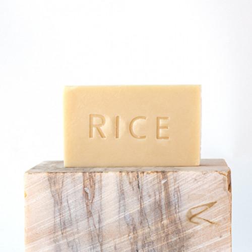 RICE SOAP สบู่ธรรมชาติน้ำมันข้าว