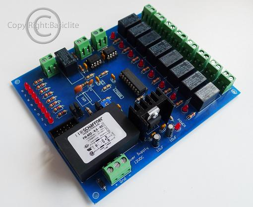 BCRE8CH DMX512 to Relay8CH