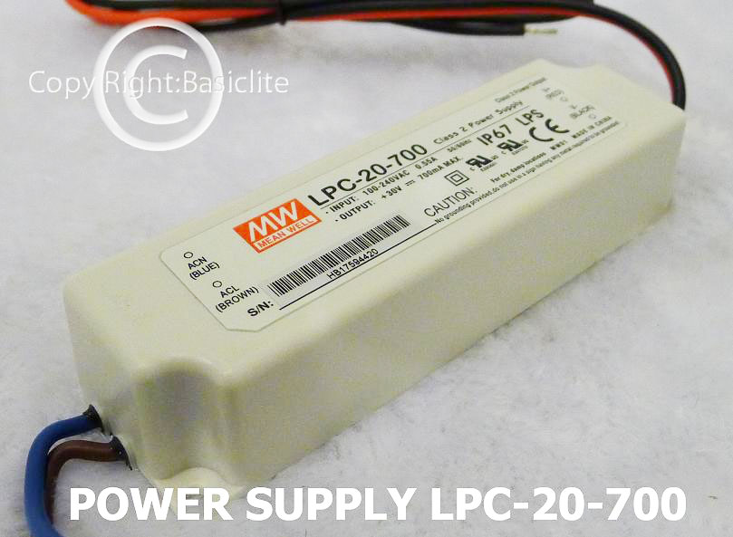PS-LPHC-20-700mA / Code: 3-22-00002
