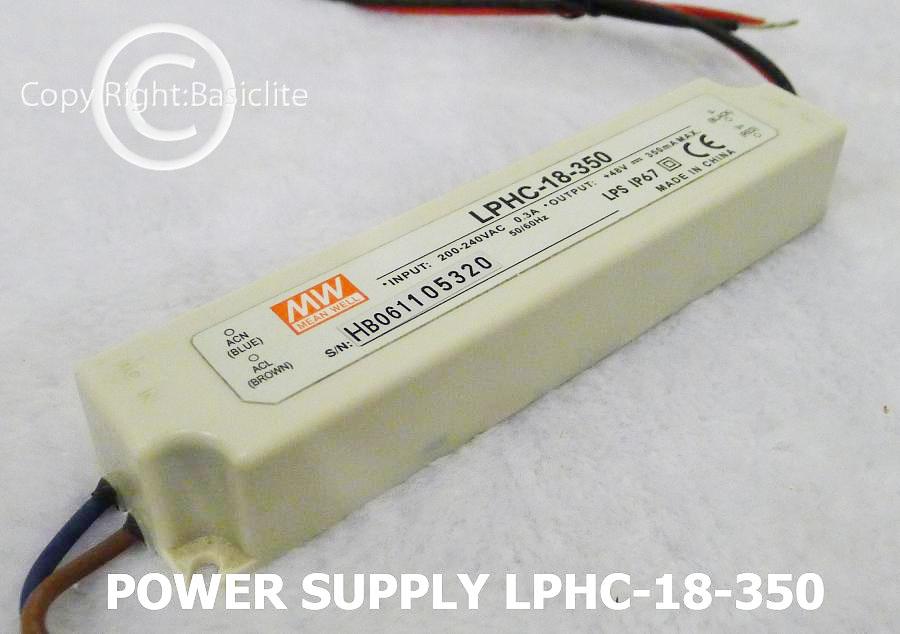 PS-LPHC-18-350mA  Code: 3-22-00001