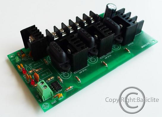 ตัวขับแอลอีดีแบบ PWM BRDMX3CHV1