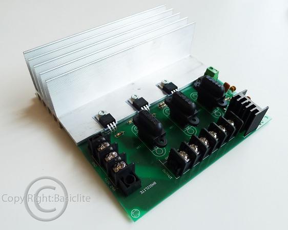 ตัวขับแอลอีดีแบบ PWM BRDMX3CHV2