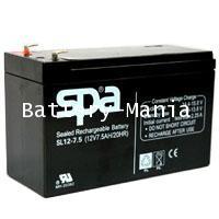 SLA Battery SL 12-7.5 SPA 12V 7.5AH