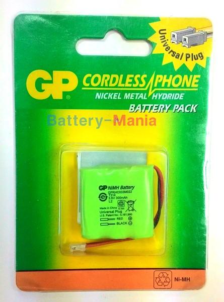 แบตเตอรี่ โทรศัพท์ไร้สายGPแท้ GP T314 ใช้แทนแบตเตอรี่หลายยี่ห้อ