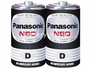 ถ่านไฟฉาย R20NT/2SL D (แพ็ค 2 ก้อน) Panasonic NEO