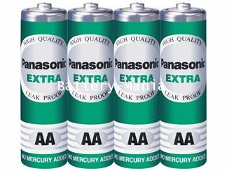 ถ่านไฟฉาย R06ST/4SL AA (แพ็ค 4 ก้อน) Panasonic Extra