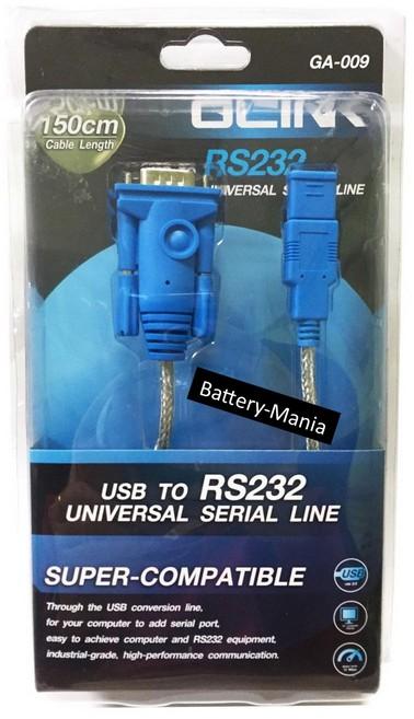 USB TO Serial RS232 Cable GLINK GA-009 1.5M ของใหม่ ออกใบกำกับภาษีได้
