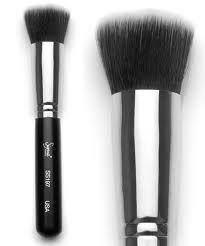 แปรง Sigma  F50 Beauty Brushes Duo Fibre แปรงคอนทัวร์เฉดดิ้งมีซองใสสำหรับใส่แปรง