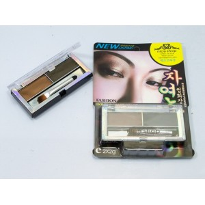 (ยกโหล) Eyebrow Powder Nice Shop Double Shape Color ปัดคิ้วเนื้อแป้งสีชัดเจนใช้น้อยประหยัดมากค่ะ