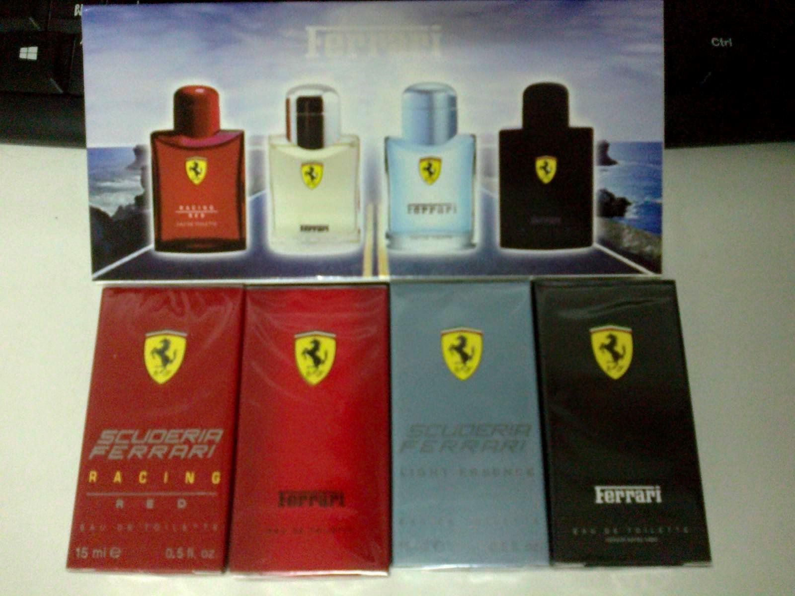 น้ำหอมเทสเตอร์ Ferrari light essence bright EAU DE TOILETTE 15 ml.x4 หัวสเปรย์