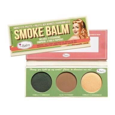 The Balm Smoke Balm Eyeshadow Palette โทนน้ำตาลนู้ด