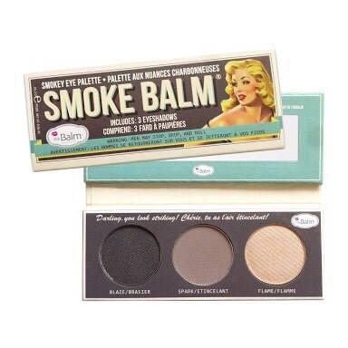 The Balm Smoke Balm Eyeshadow Palette โทนเทานู้ด