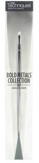 Real Techniques Bold Metals (202 Angled Liner Brush ) แปรงหัวตัดวาดคิ้วหรือเขียนอายไลเนอร์