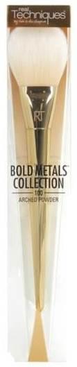 Real Techniques Bold Metals  (100 Arched Powder Brush) แปรงปัดแป้งอเนกประสงค์