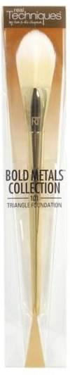 Real Techniques Bold Metals (101 Triangle Foundation Brush)แปรงหัวสามเหลี่ยมสำหรับลงรองพื้น