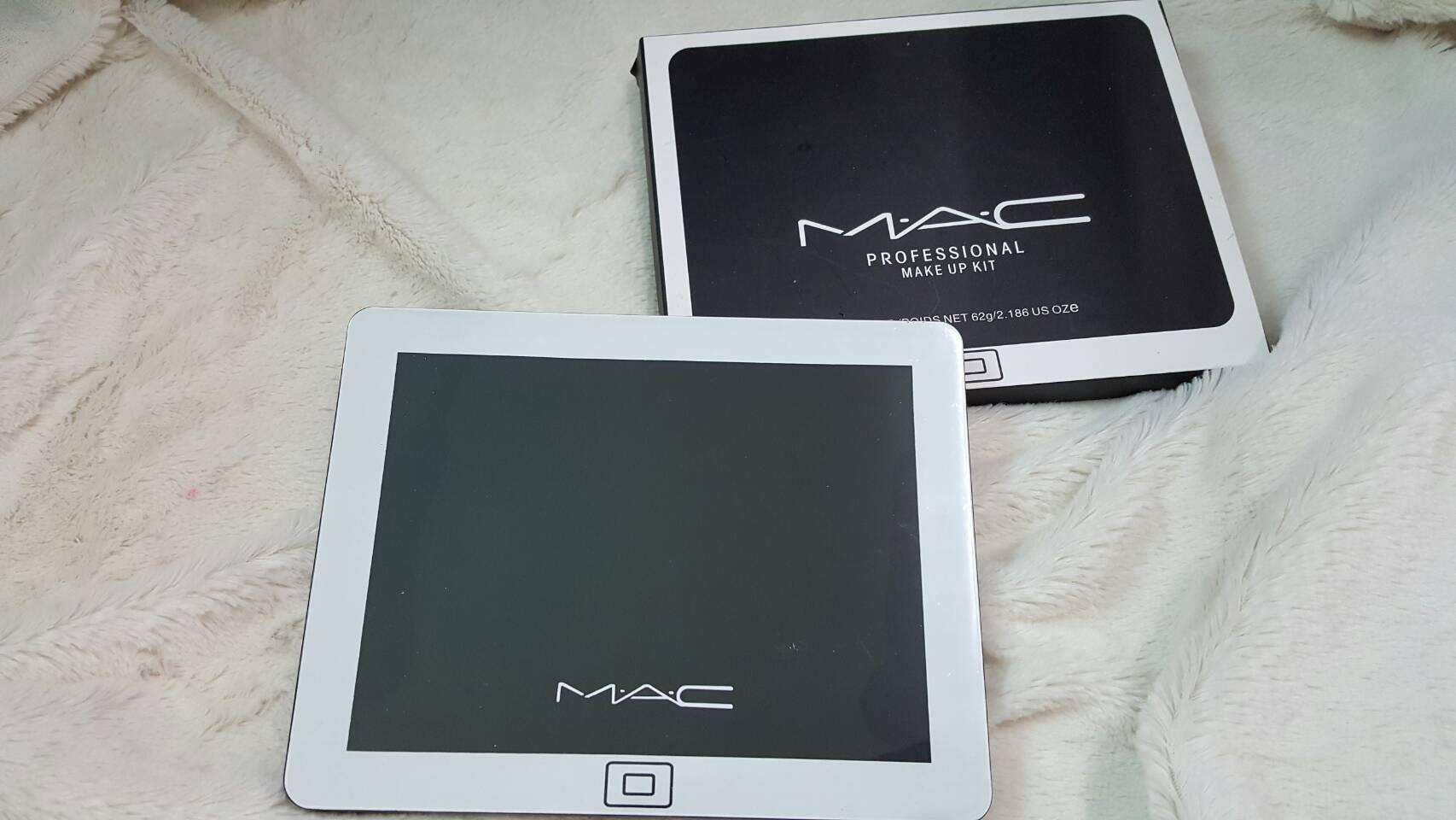 MAC profussional mackup KIT ครบที่สุดแห่งการแต่งหน้า โทนสีเมทาลิคสวยแซ่บ แพคเกจไอแพค