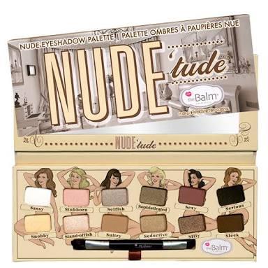 The Balm Nude\'tude Eyeshadow Palette แพคเกจเดิม