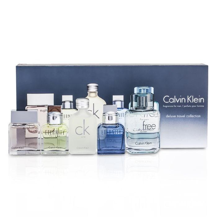 Calvin Klein Deluxe Travel Collection Men's Miniature Coffret 5Pcs หัวแต้ม
