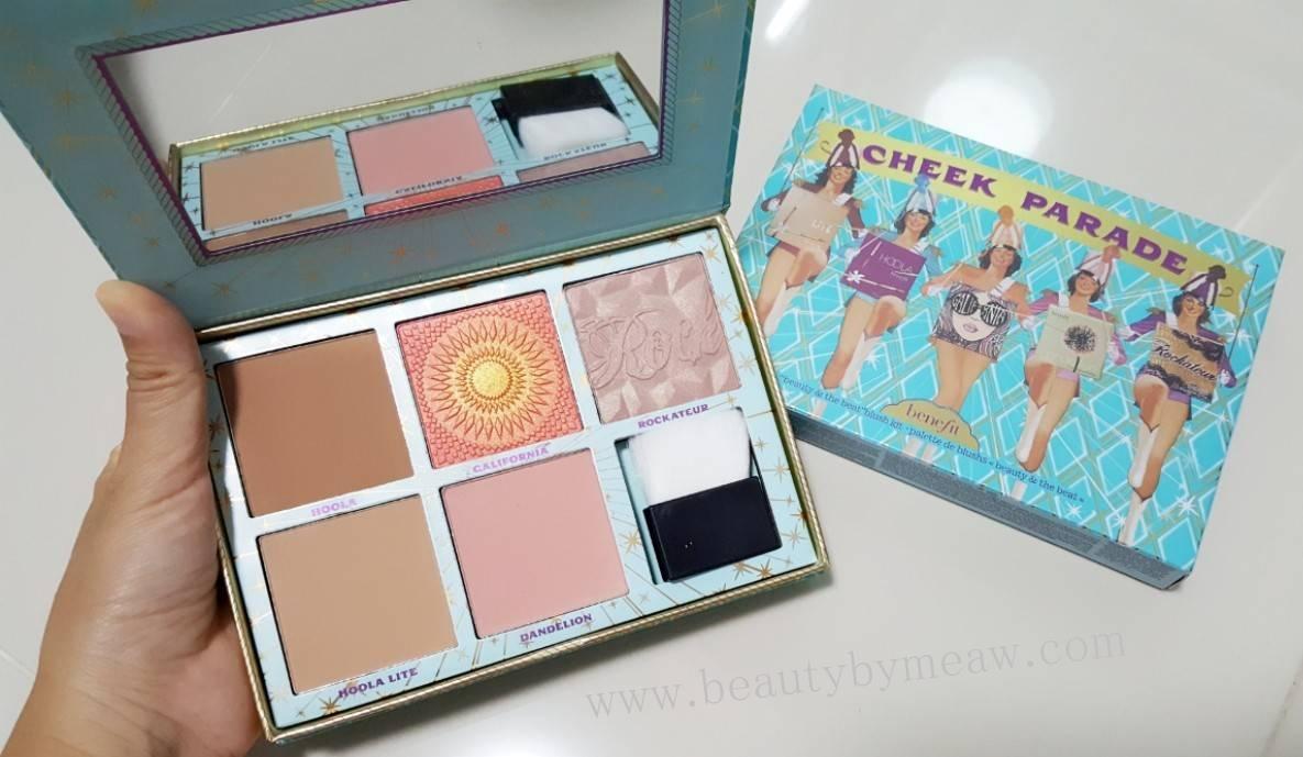 Benefit Cheek Parade Limited Edition พาเลตนี้ รวมความดังของบลัชสีฮิต จาก Benefit