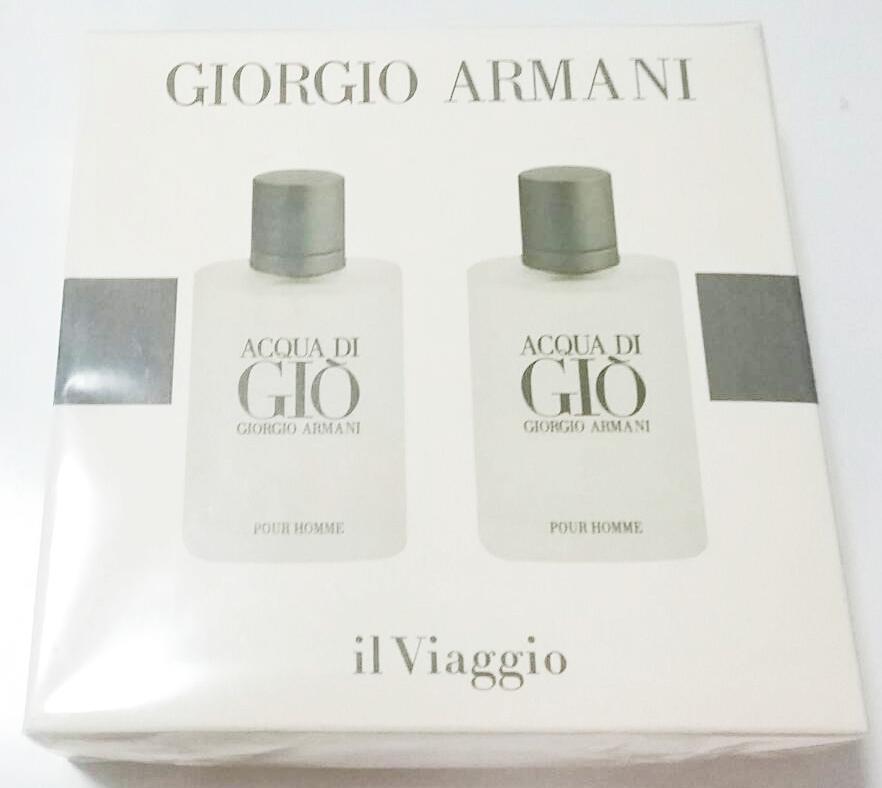 น้ำหอมเทสเตอร์ Giorgio Armani Acqua Di Gio Homme EDT 30ml.2 แพคู่มีกล่องแยกขายได้
