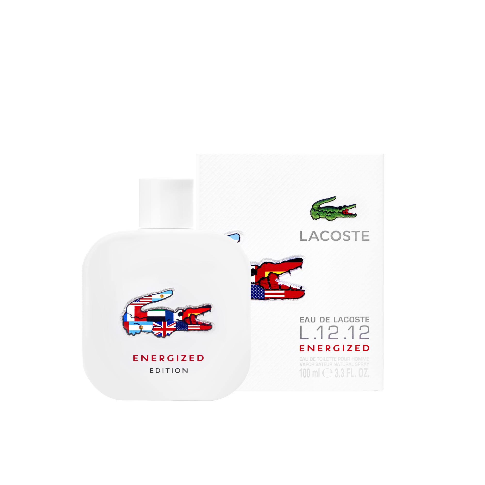 น้ำหอม Lacoste L.12.12 Energized Lacoste for men 100ml พร้อมกล่อง