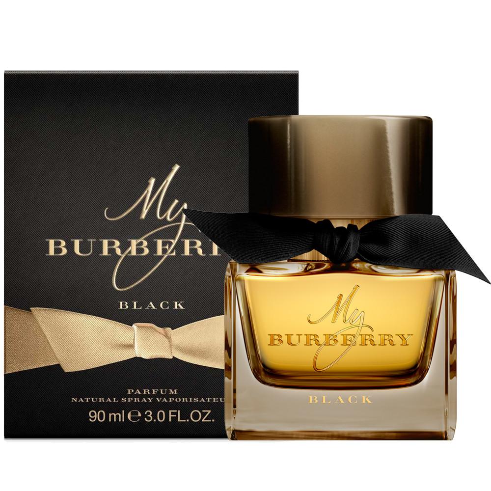 น้ำหอมผู้หญิง BURBERRY My Burberry Black Parfum 90 ml.รุ่นโบว์ดำหอมล้ำลึก
