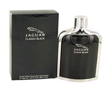 น้ำหอม Jaguar Classic Black by Jaguar Eau De Toilette Spray 100 ml. (หัวสเปรย์)