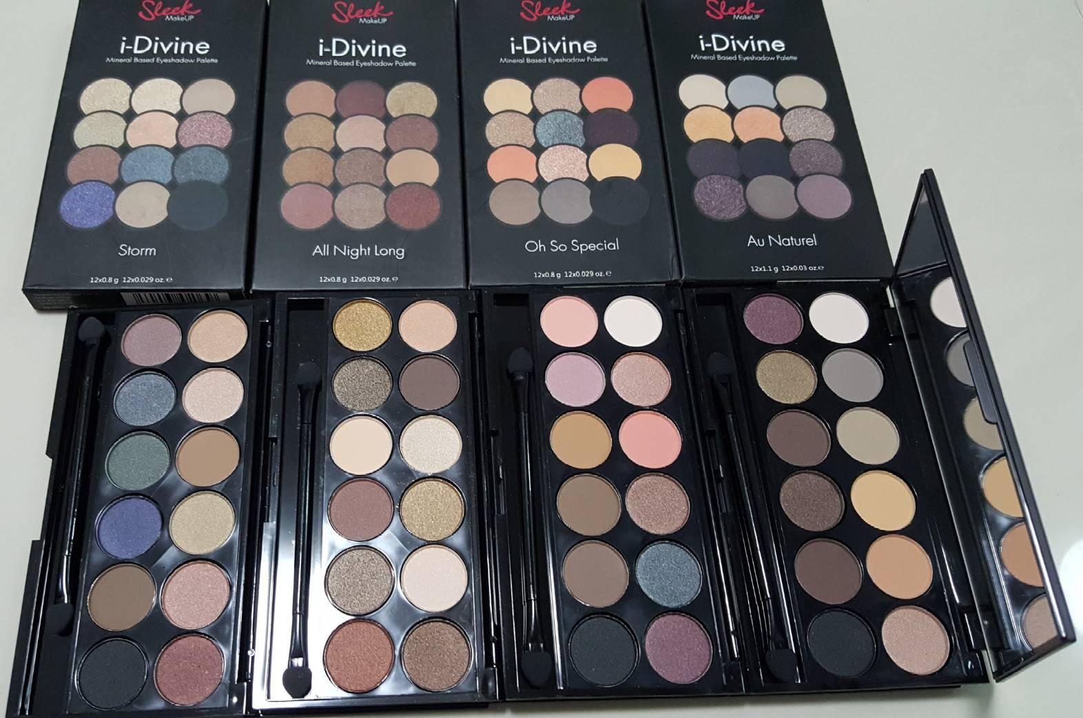 sleek i-divine eyeshadow palette ทาตาอายแชโดว์ 12 สีงานเหมือนเค้าเตอร์เป๊ะมาก 2