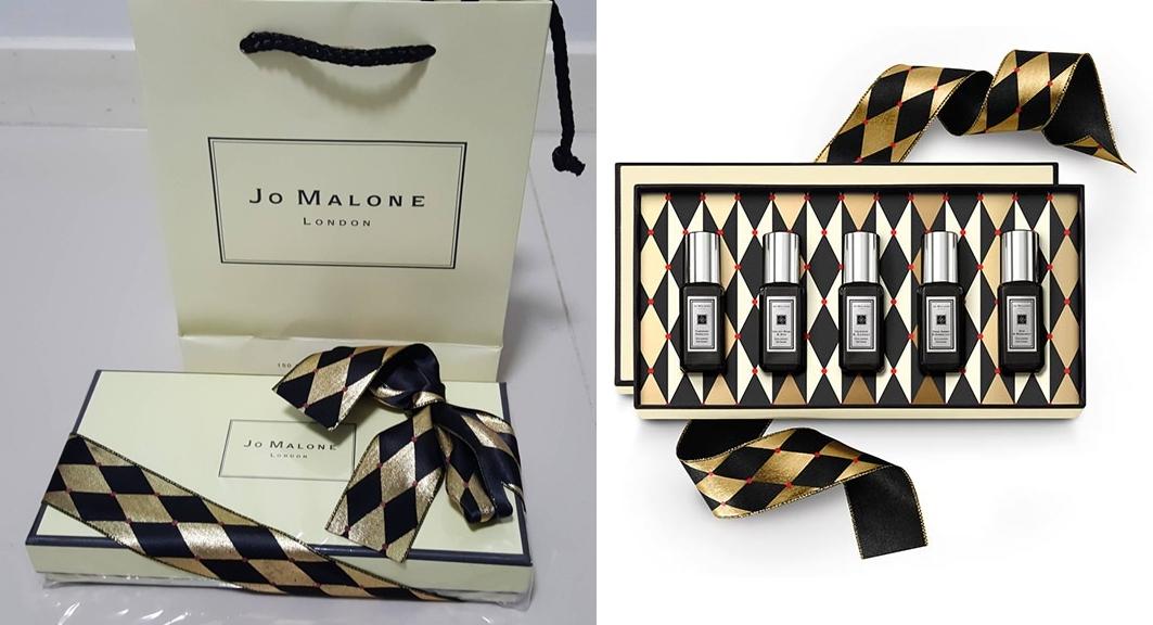 Jo malone Cologne Intense Collection 9ml.x5 กลอ่งของขวัญ แพคสวยภาพสินค้าจริงค่ะ