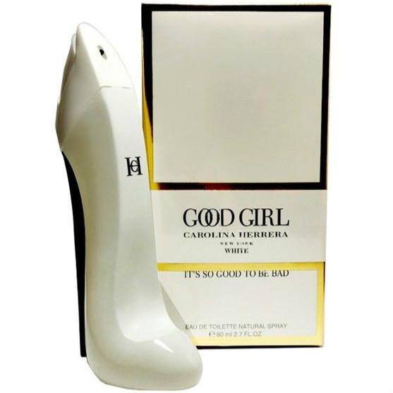 น้ำหอม Carolina Herrera Good Girl White EDP 80ml. ขวดรองเท้าสีขาวเรียบหรู