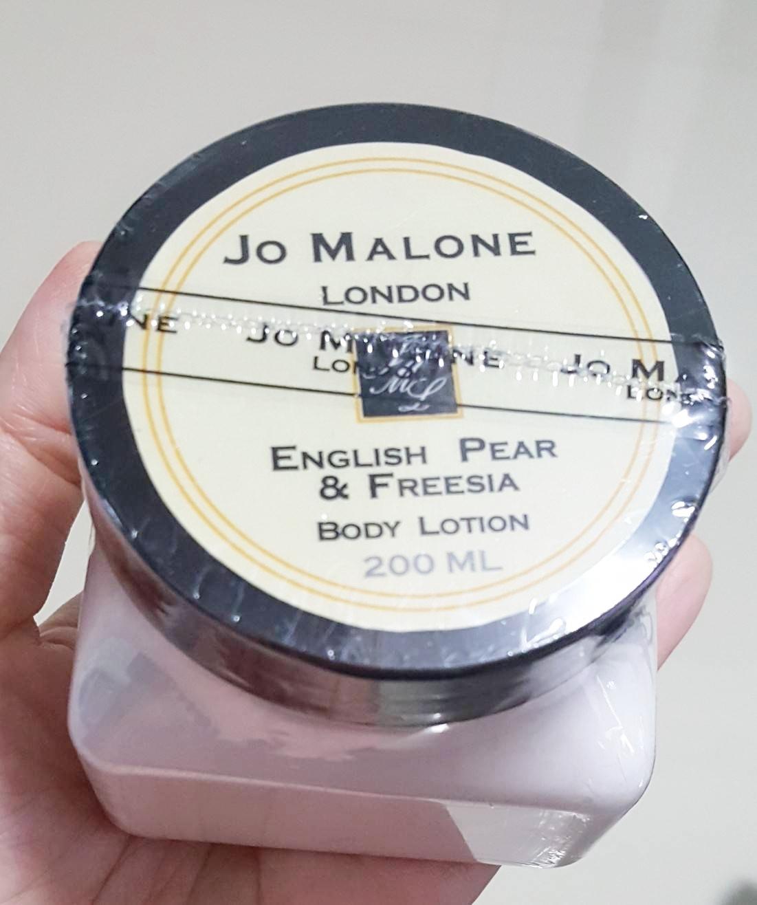 ครีมน้ำหอม Jo Malone English pear  Freesia cologne Body Lotion ขนาดใหม่เพิ่มปริมาณเป็น 250ml.