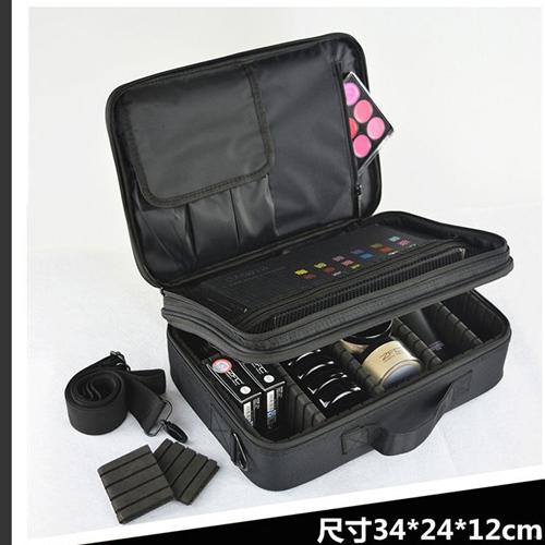 กระเป๋าใส่เครื่องสำอางค์ อเนกประสงค์ สินค้าถ่ายจากสินค้าจริง  (ไม่รวมอุปกรณ์) ช่องแบบใหมแข็งแรงพิเศษ