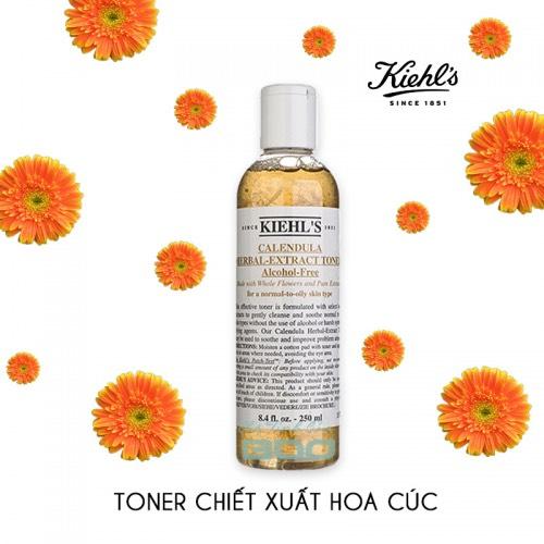 Kiehl\'s Calendula Herbal-Extract Toner Alcohol-Free 250ml.