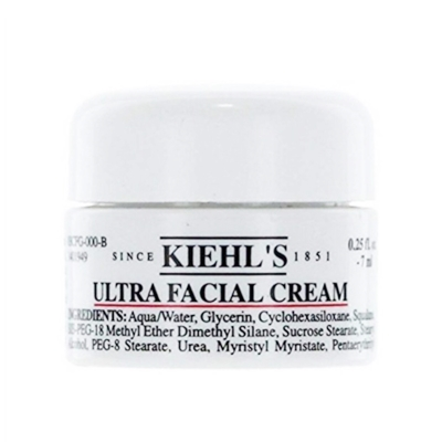 KIEHL\'S ครีมบำรุงผิวหน้า Ultra Facial Cream 7ml.ของแท้ขนาดทดลอง