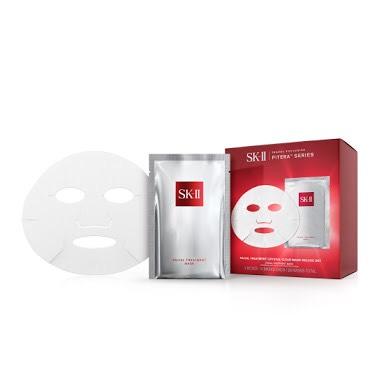 SK-II Facial treatment crystal clear Mask deluxe set มาส์กทิชชู่แพค 20 ซอง แพคพิเศษสุดคุ้ม
