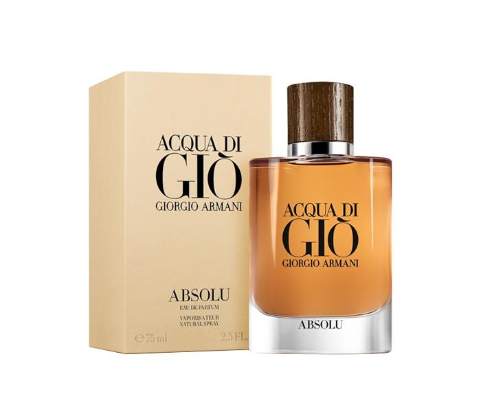 น้ำหอม Giorgio Armani Acqua Di Gio Absolu 125ml . รุ่นใหม่ฝาลายไม้สวยมาก