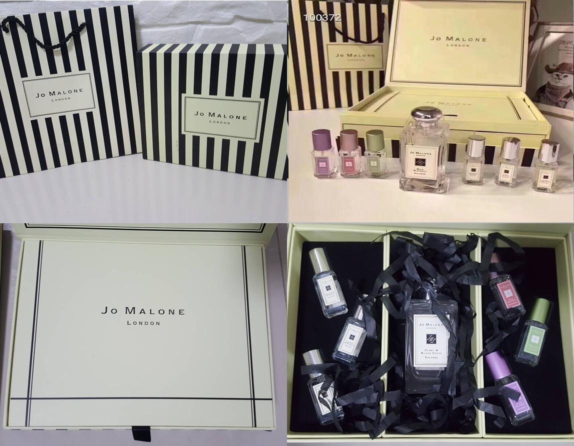 Jo malone Cologne london Collection 9ml.x6pcs + 100ml.1 ขวด(แพคเกจกล่องของขวัญพร้อมถุงห้างสวยหรูหรา)