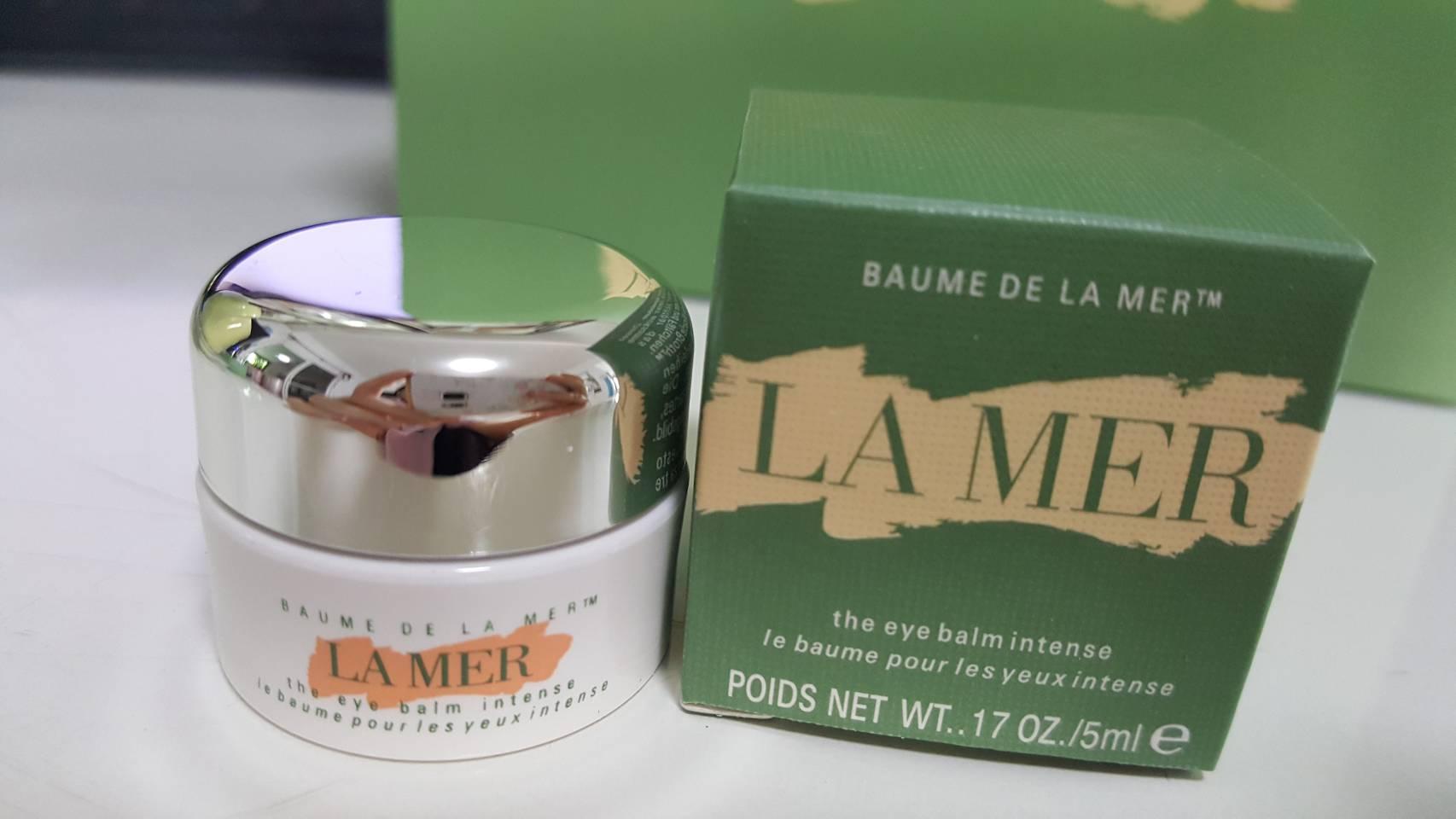 LA MER The Eye Balm Intense 5ml.อายบาล์ม ขนาดทดลอง ถ่ายจากสินค้าจริงที่จำหน่ายค่ะ