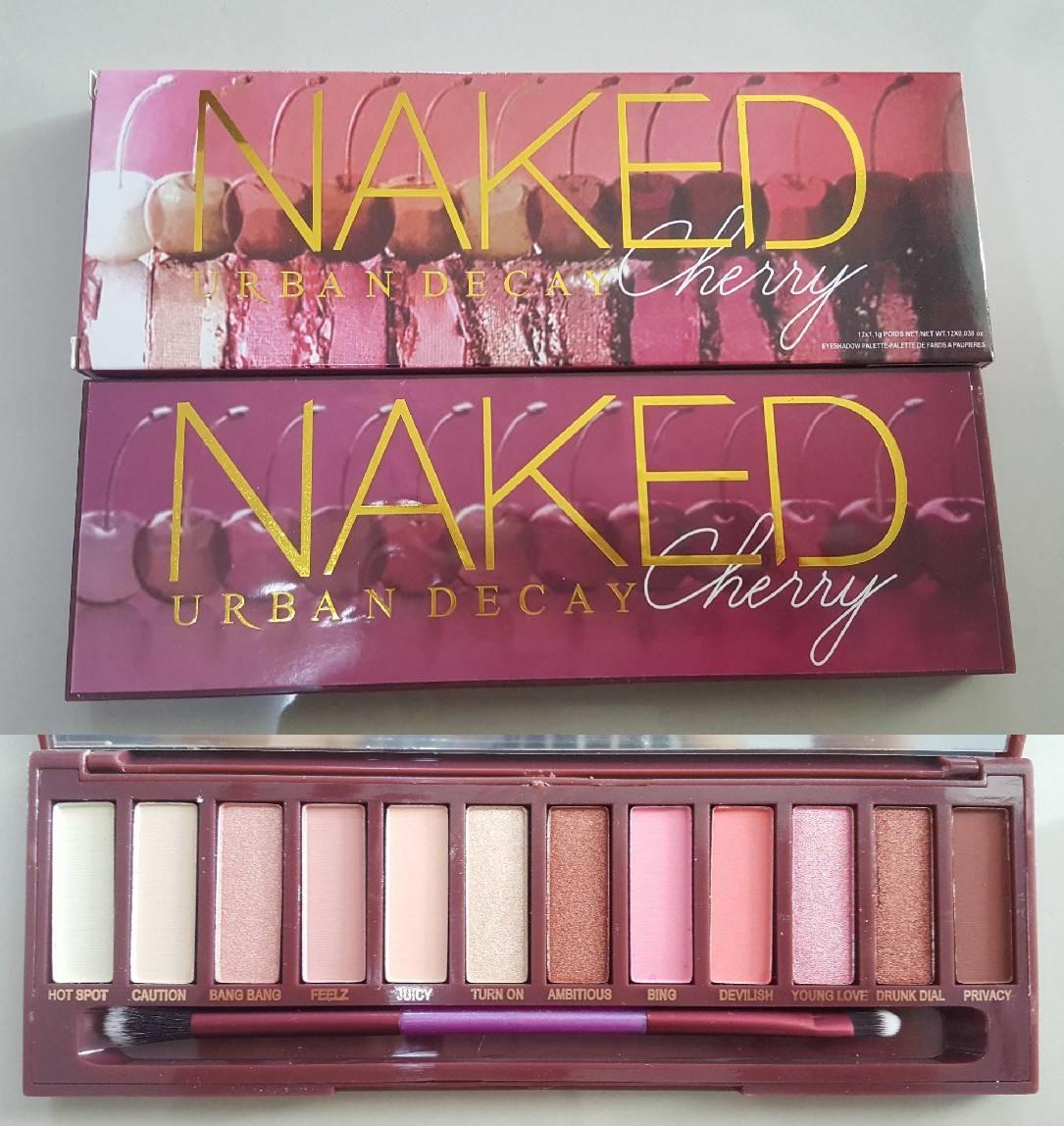 URBAN DECAY พาเลตต์อายแชโดว์เชอร์รี่ Naked Cherry Palette งานมิลเลอร์ถ่ายจากสินค้าจริงค่ะ
