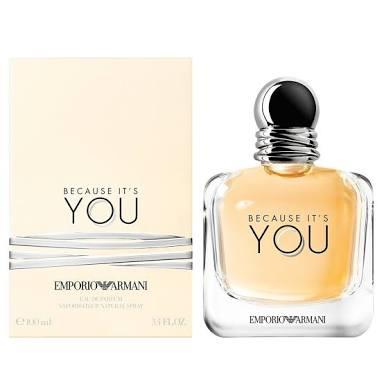 น้ำหอมผู้หญิง Giorgio Armani  Because It\'s You  100ml. Eau De Parfum Spray for Women