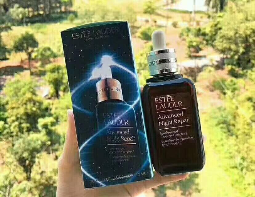 Estee Lauder Advanced Night Repair Concentrate 100 ml.งานรอบใหม่สวยมากๆค่ะ งานมิลเลอร์กล่องลายใหม่