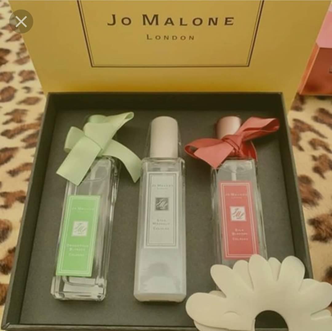 jo malone blossom collection 30ml.*3 แพคสวยภาพสินค้าจริงค่ะ