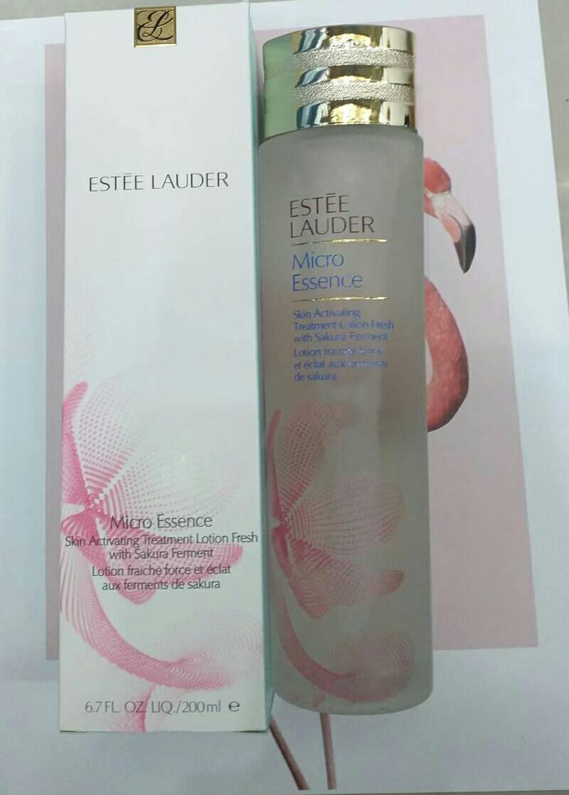 ESTĒE LAUDER Micro Essence Skin Activating Treatment Lotion Fresh with Sakura Ferment 200ml.